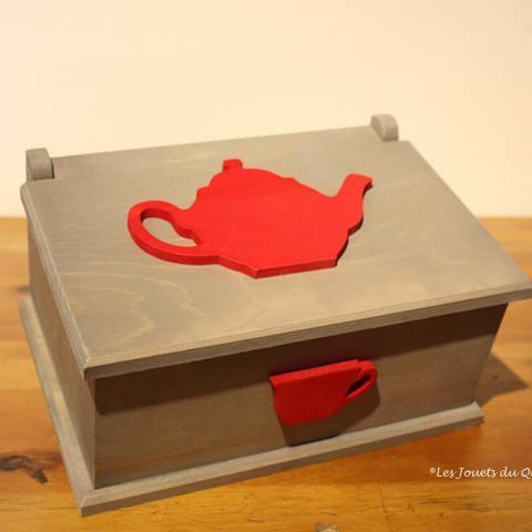 boite tisane les jouets du queyras. Black Bedroom Furniture Sets. Home Design Ideas