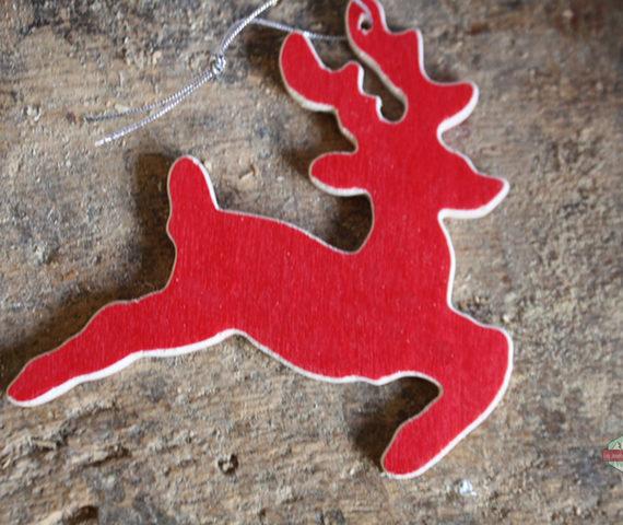 renne rouge noel