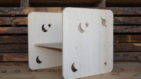 Le Qube: la chaise Montessori en mode Queyras !