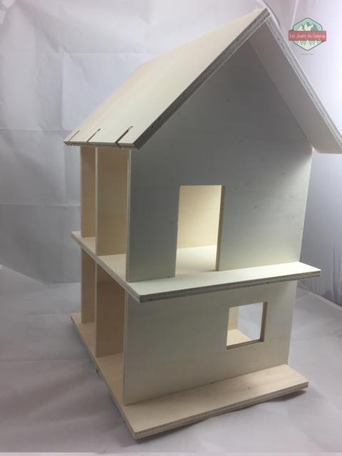 maison avec toit